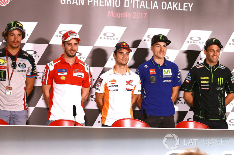 Franco Morbidelli, Marc VDS Andrea Dovizioso, Ducati Team, Dani Pedrosa, Repsol Honda Team, Maverick Viñales, Yamaha Factory Racing, Johann Zarco, Monster Yamaha Tech 3
