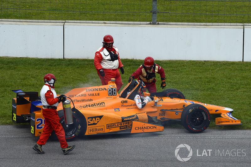 Otra vez Honda provoca el final antes de tiempo