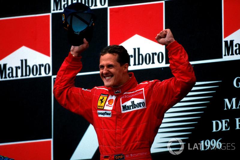 Михаэль Шумахер, шесть побед на Гран При Испании