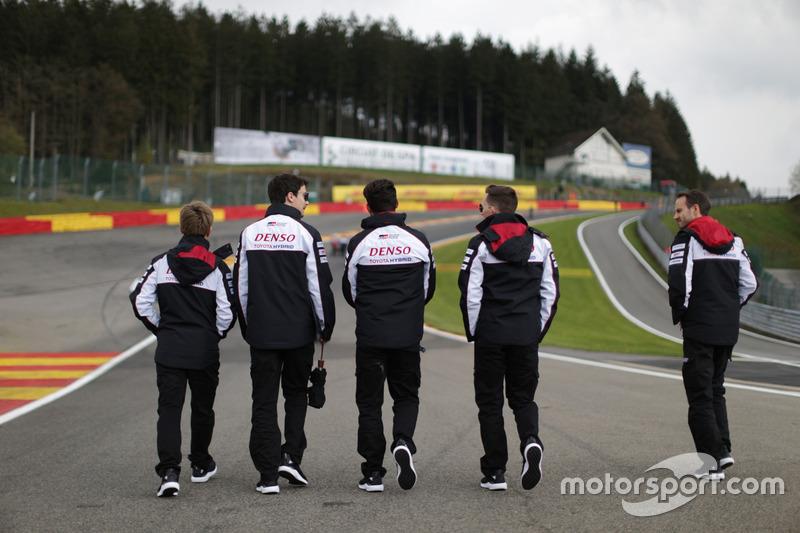 Toyota Gazoo Racing track walk