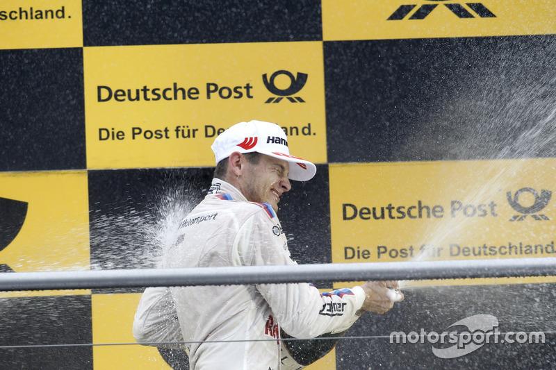 Podium: Marco Wittmann, BMW Team RMG, BMW M4 DTM