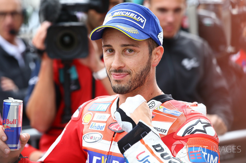 Second place after qualifying, Andrea Dovizioso, Ducati Team