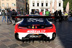 The Mercedes AMG GT3 of AKKA ASP