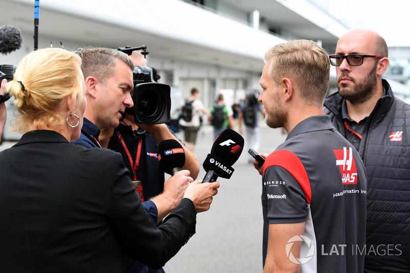 Кевін Магнуссен, Haas F1 Team talks, Крейг Слейтер, Sky TV