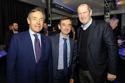 Präsident der FIA Endurance Commission Lindsay Owen-Jones, ACO Präsident Pierre Fillon