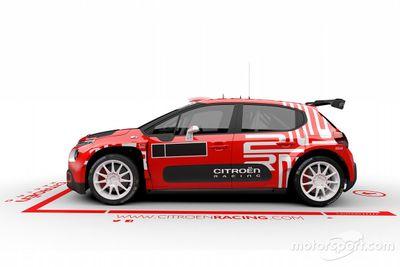 Citroën C3 Rally2 tanıtımı