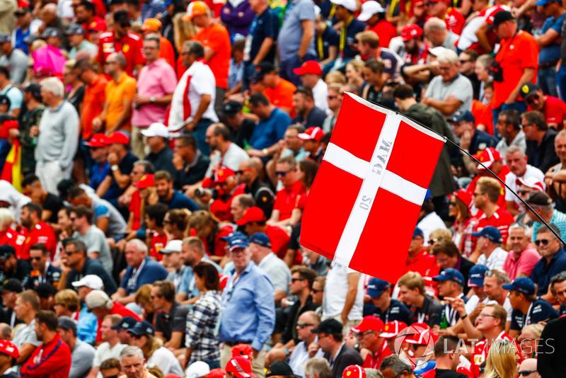 Fans de Kevin Magnussen, Haas F1 Team