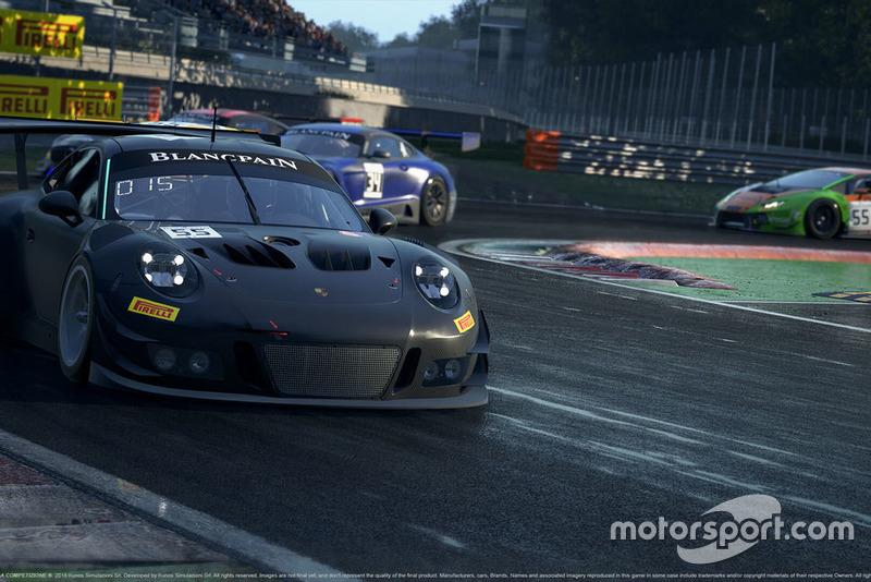 Imagen del desarrollo del Assetto Corsa Competizione