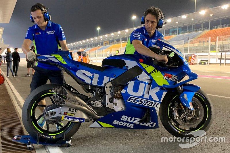 Detalle de la Suzuki