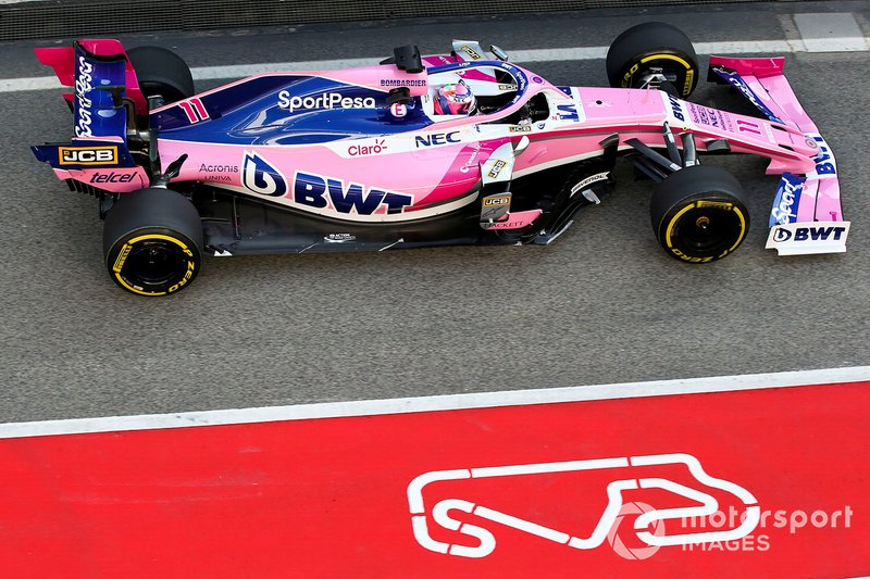 18º Sergio Perez, Racing Point RP19 , 1:17.791 (gomme C5, giorno 8)