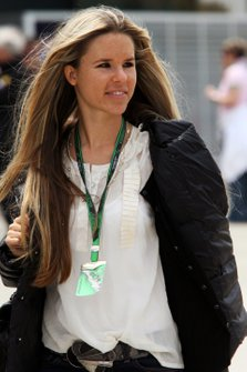 Vivian Sibold, novia de Nico Rosberg