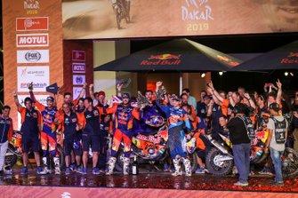 Podium : KTM Factory Team