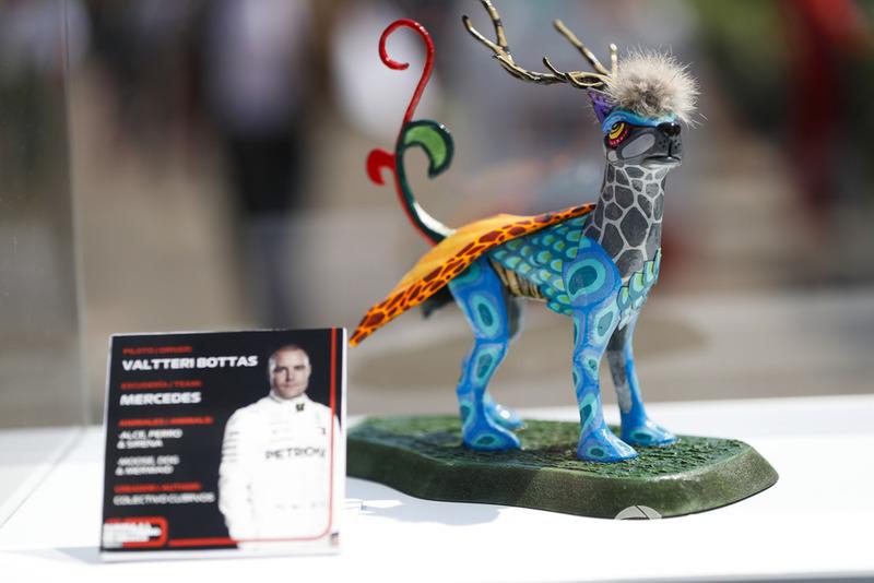 Гран Прі Мексики: статуетка Валттері Боттаса, Mercedes AMG F1
