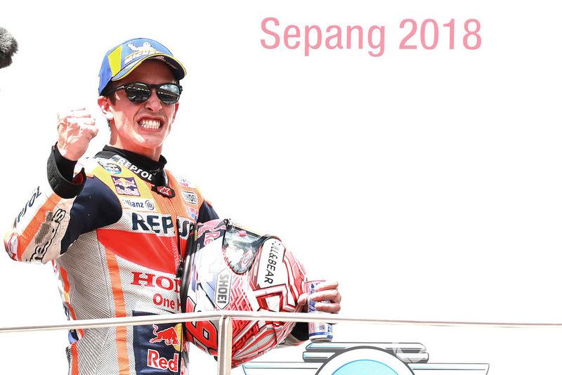 Podium: Pemenang balapan, Marc Marquez, Repsol Honda Team