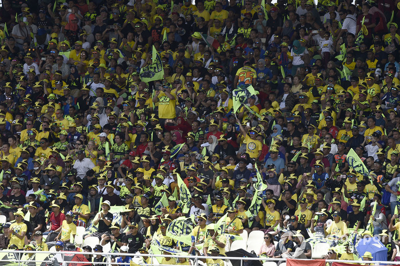Fans Valentino Rossi, Yamaha Factory Racing