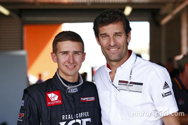 Matt Campbell, Competition Motorsports y Mark Webber