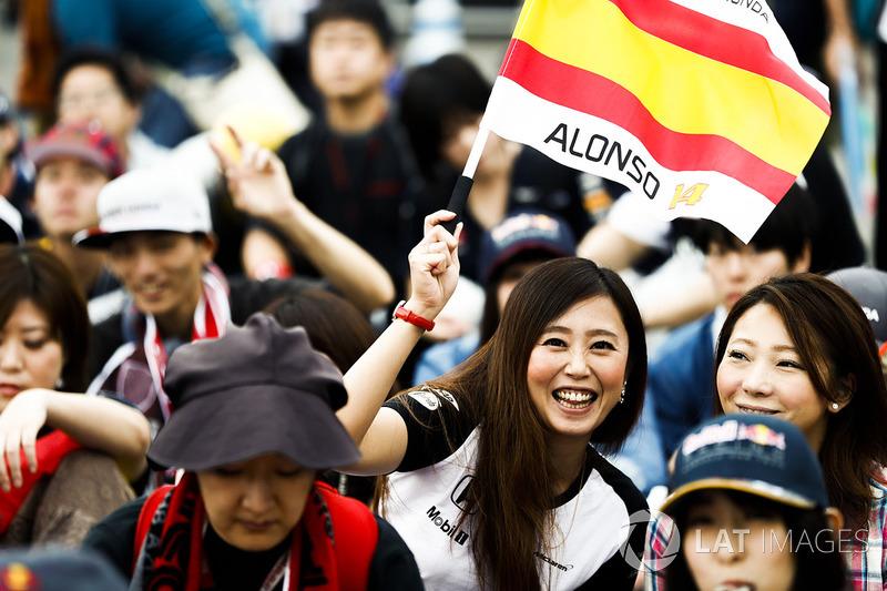 Apoyo para Fernando Alonso, McLaren
