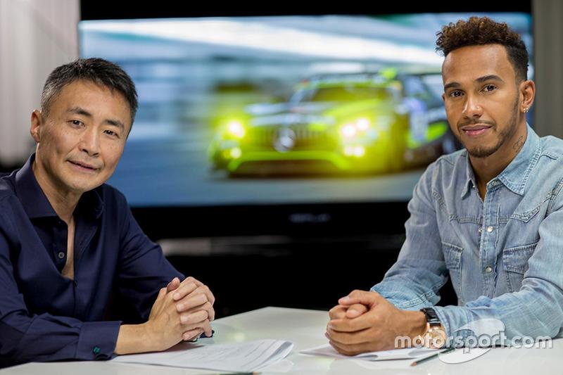 Lewis Hamilton, Mercedes AMG F1, Kazunori Yamauchi