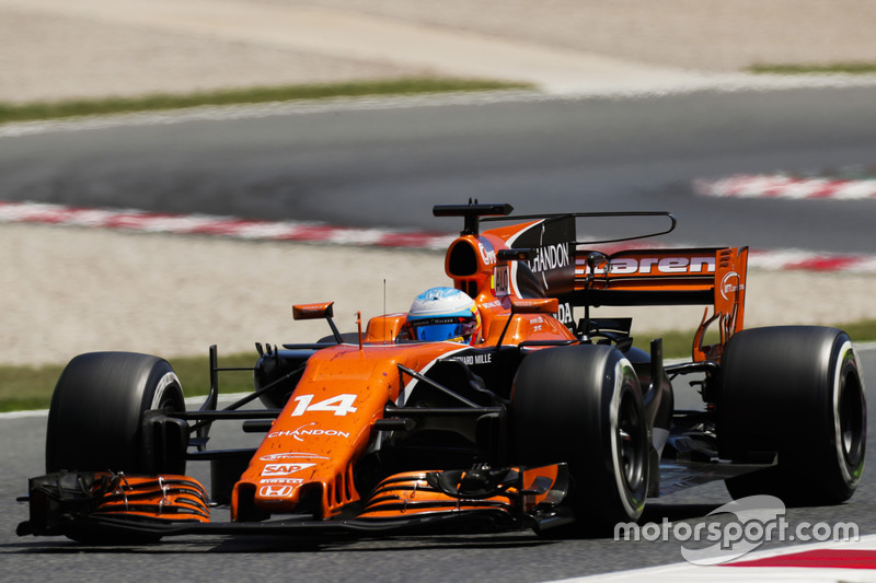 Гран При Испании: еще по ходу тренировок Алонсо все понял о двигателе Honda