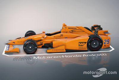 Indy-500-Test von Fernando Alonso