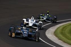 Ed Carpenter, Ed Carpenter Racing, Chevrolet; J.R. Hildebrand, Ed Carpenter Racing, Chevrolet