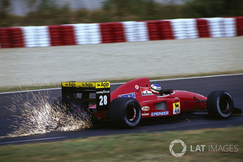1992年ハンガリー GP:イワン・カペリ(フェラーリF92A)