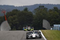 Sébastien Bourdais, Dale Coyne Racing Honda, Charlie Kimball, Chip Ganassi Racing Honda