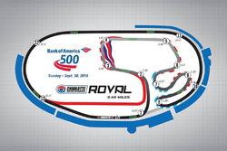 Charlotte diseño de circuito de carretera