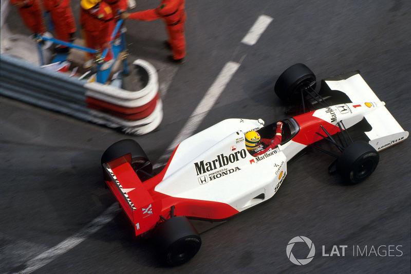 Айртон Сенна, McLaren MP4/7A Honda
