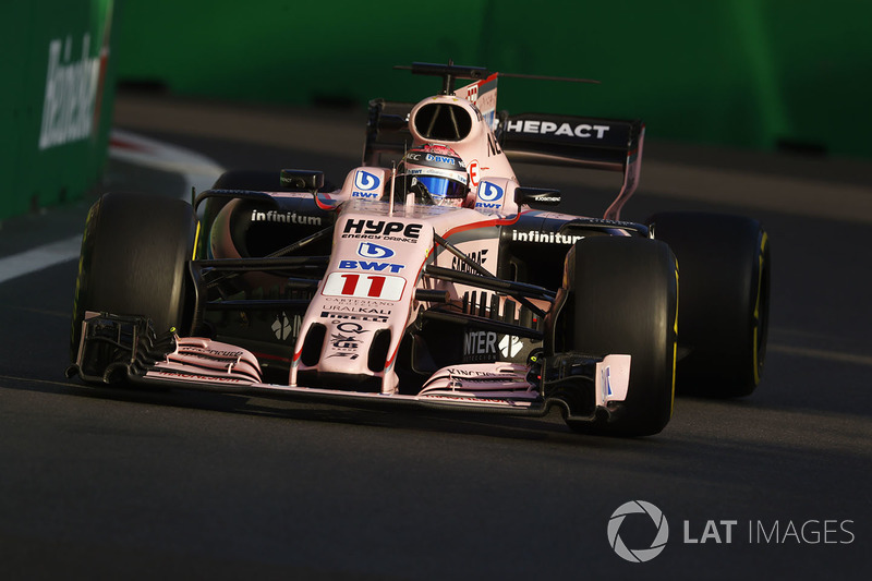 6. Серхіо Перес, Sahara Force India F1 VJM10