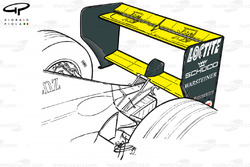McLaren MP4-14 rear wing (Italian GP)