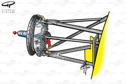 Jordan EJ10 front brake assembly (Qualifying)