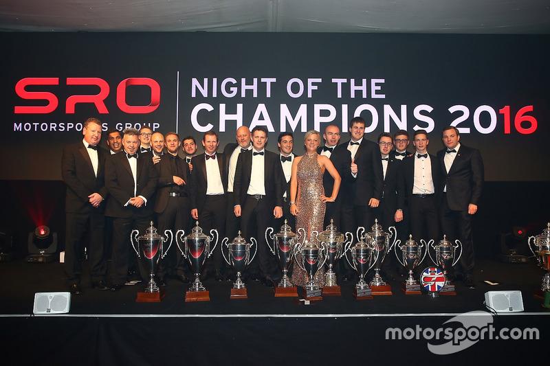 Ganadores de Blancpain GT Series 2016