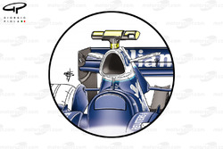Williams FW28 2006 airbox wings