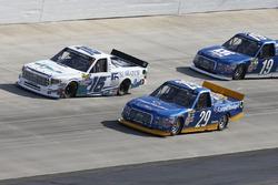 Chase Briscoe, Brad Keselowski Racing, Ford; Ryan Truex, Hattori Racing Enterprises, Toyota