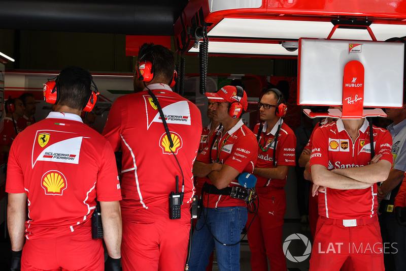 Marc Gene, Ferrari en el garaje