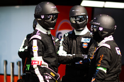 Gulf Racing team members