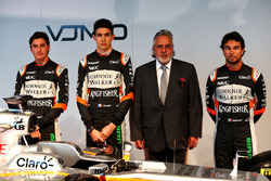 Alfonso Celis Jr, Sahara Force India F1 Development Driver; Esteban Ocon, Sahara Force India F1 Team