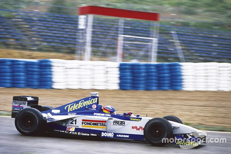 Fernando Alonso, Minardi M01