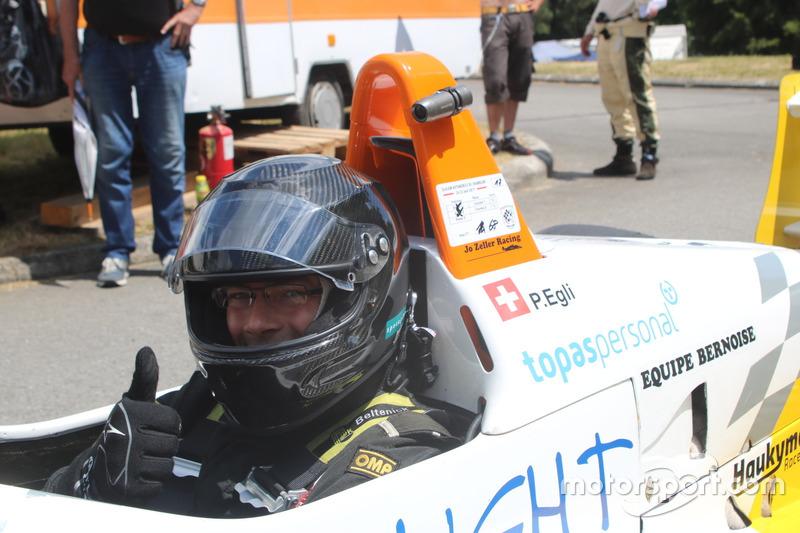 Philip Egli Dallara F394 Opel Racing Club Airbag Chamblon Photos Slalom Suisse
