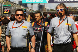 Paul Hembery, Pirelli Motorsport Director on the grid
