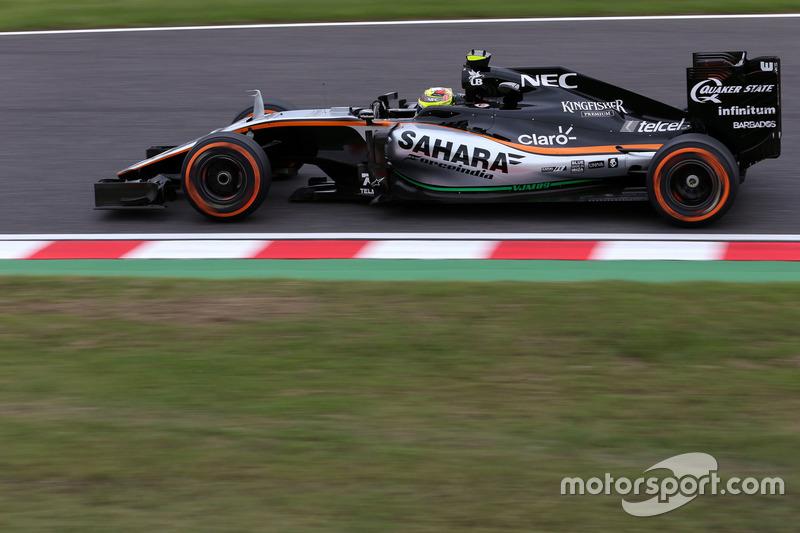 5. Sergio Perez, Sahara Force India