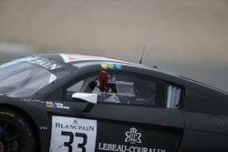 #33 Belgian Audi Club Team WRT Audi R8 LMS GT3: Enzo Ide, Christopher Mies