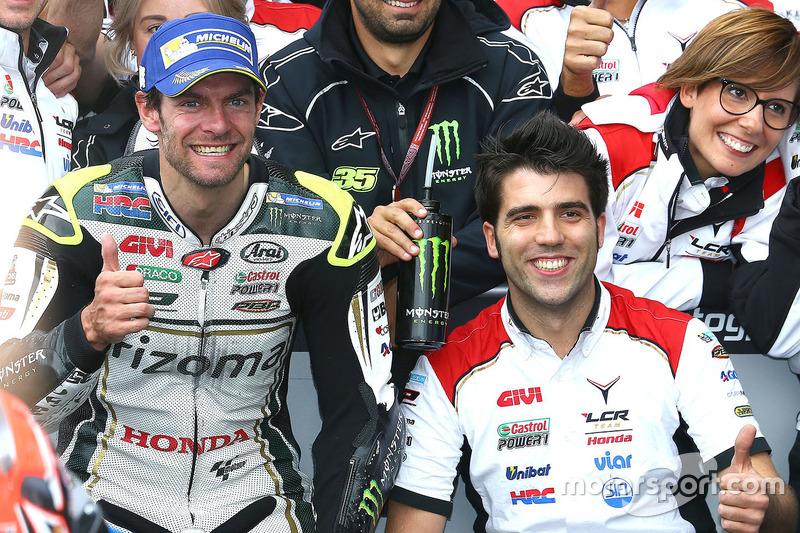 2. Cal Crutchlow, Team LCR, Honda