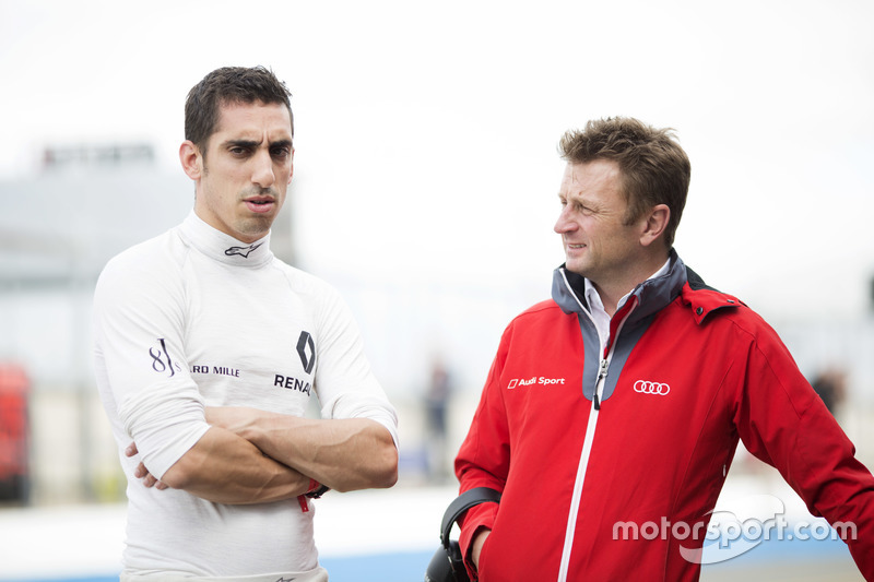 Sébastien Buemi, Renault e.Dams with Alan McNish