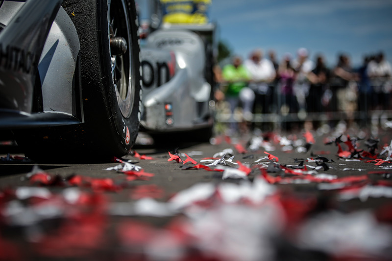 Yarış galibi Will Power, Team Penske Chevrolet detay