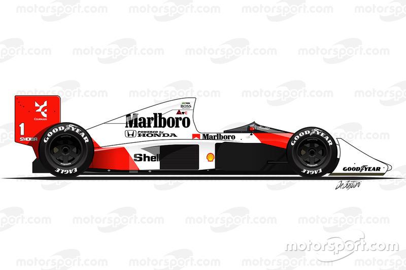 1989 - McLaren MP4-5