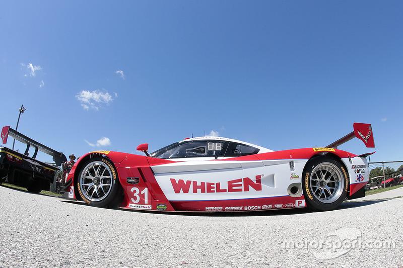 7. #31 Action Express Racing Corvette DP: Ерік Курран, Дейн Камерон
