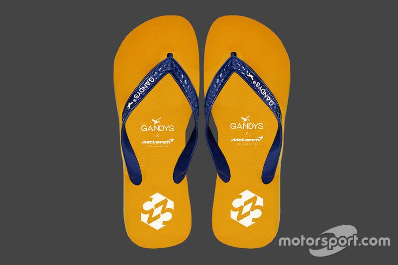 McLaren Gandys flipflops