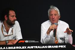 Гоночный директор FIA Чарли Уайтинг и Маттео Бончиани